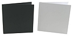 "(10pcs) 8x8"" White or Black Linen Square PhotoBook"