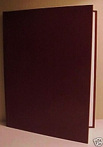 20 Maroon Bind-it Hardcover Thermal Binding Covers
