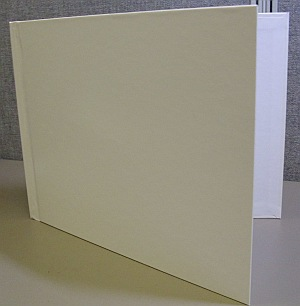 "10 12mm Glossy White Photobooks, 8.5"" x 11"" Landscape"
